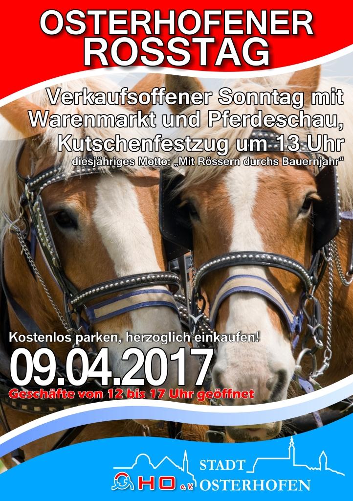 Rossmarkt Osterhofen 2017_PlakatA2_