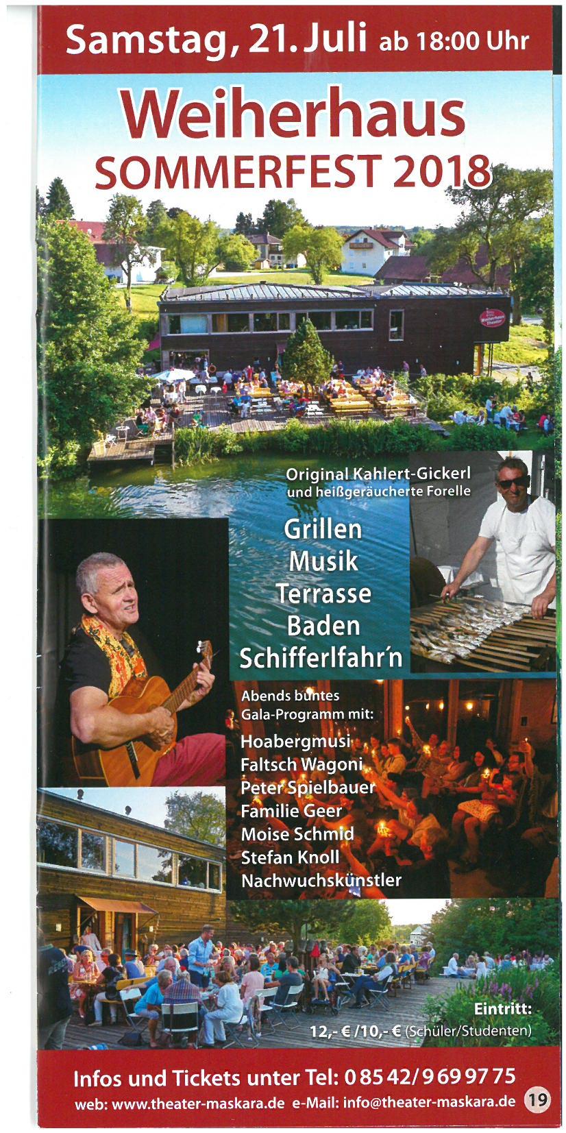 Weiherhaus Sommerfest 2018