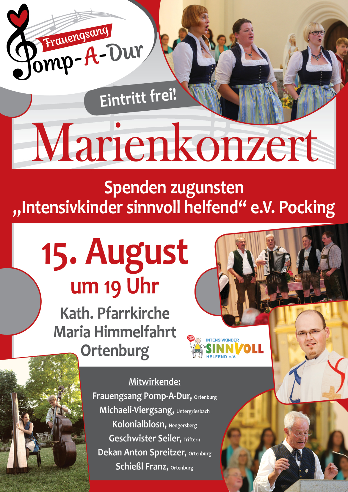 Plakat Marienkonzert 2018